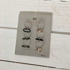 Top shop rings
